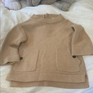 Crew cuts sweater